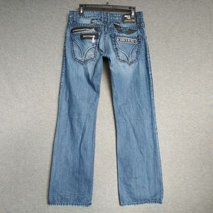 Robin's Jeans Relaxed Straight Leg Mens Jeans